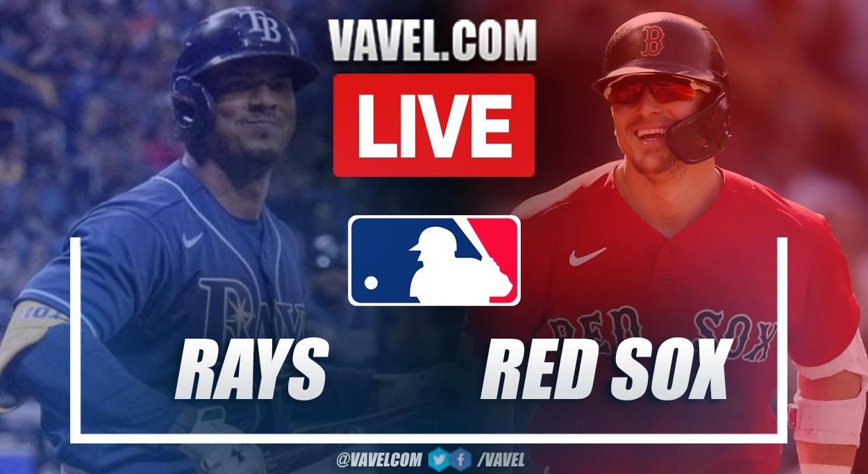 Highlights and Runs: Tampa Bay Rays 5-6 Boston Red Sox in MLB 2021