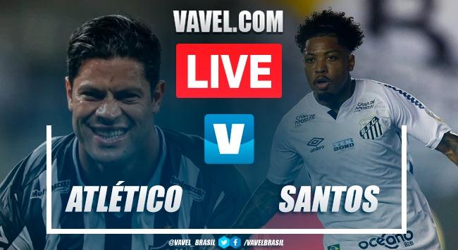 Gols e melhores momentos Atlético-MG x Santos AO VIVO (3-1)