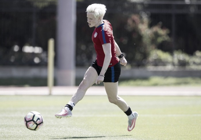 Megan Rapinoe listed as US allocation to represent Seattle Reign