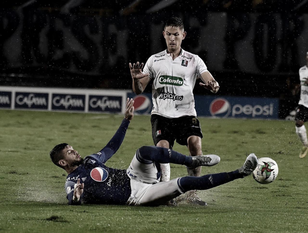 Puntuaciones de los jugadores del Once Caldas tras la derrota contra Millonarios