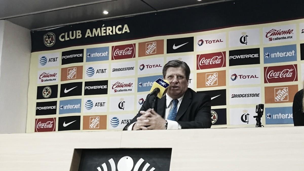 """Miguel Herrera:""""Tenemos una muy buena cantera"""""""
