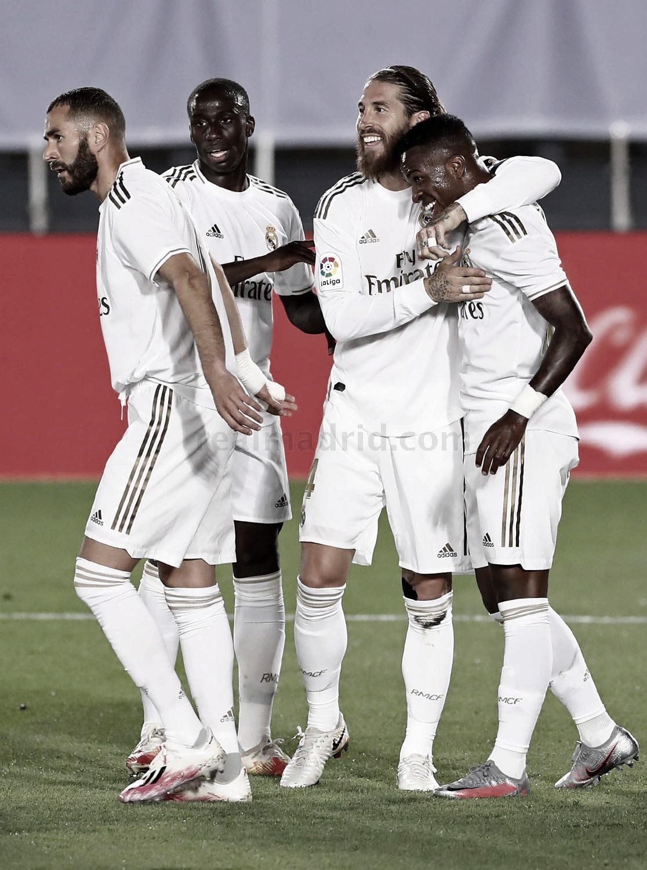 El Madrid con más victorias, mejor visitante e invicto en casa