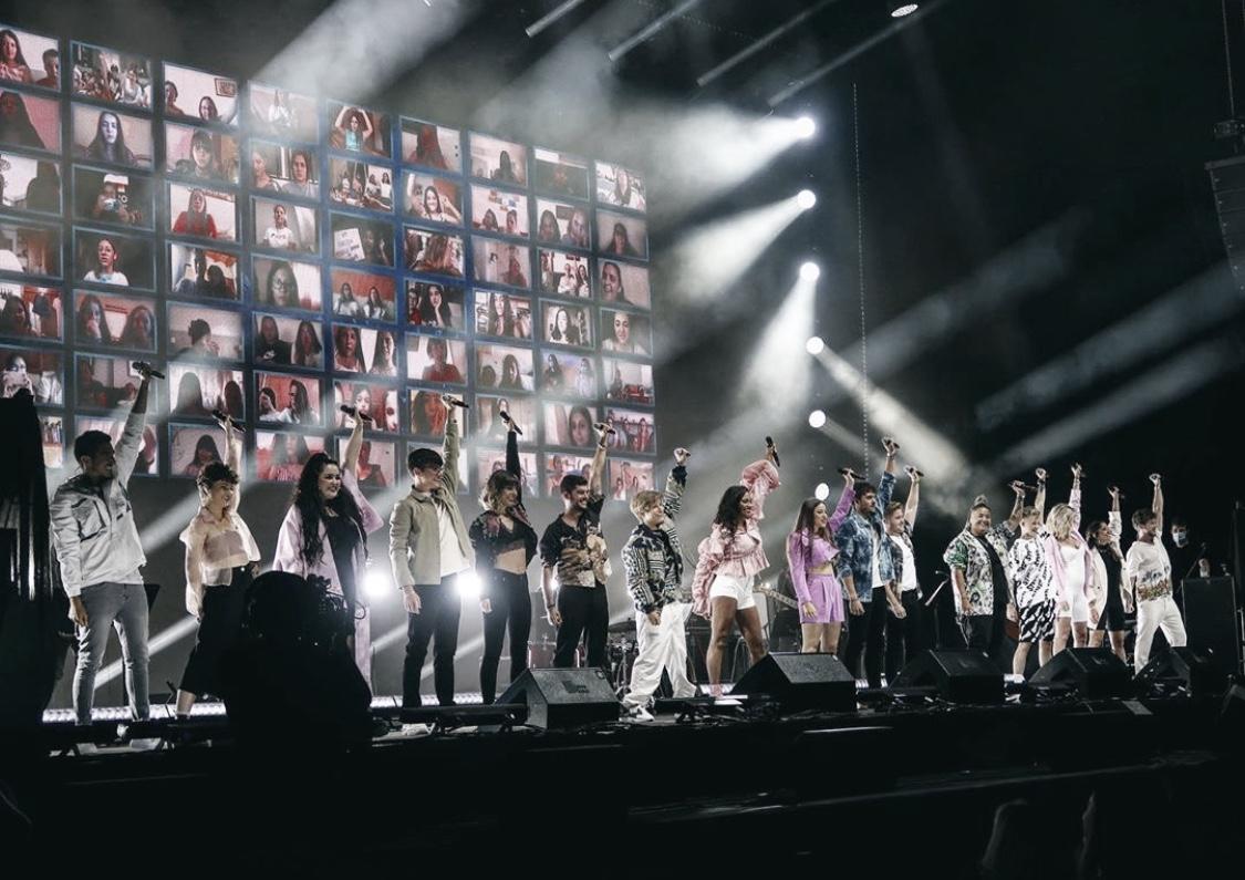 OT 2020 'Díselo a la vida': Sus primeros conciertos llenos de ganas, emoción y mensajes reivindicativos