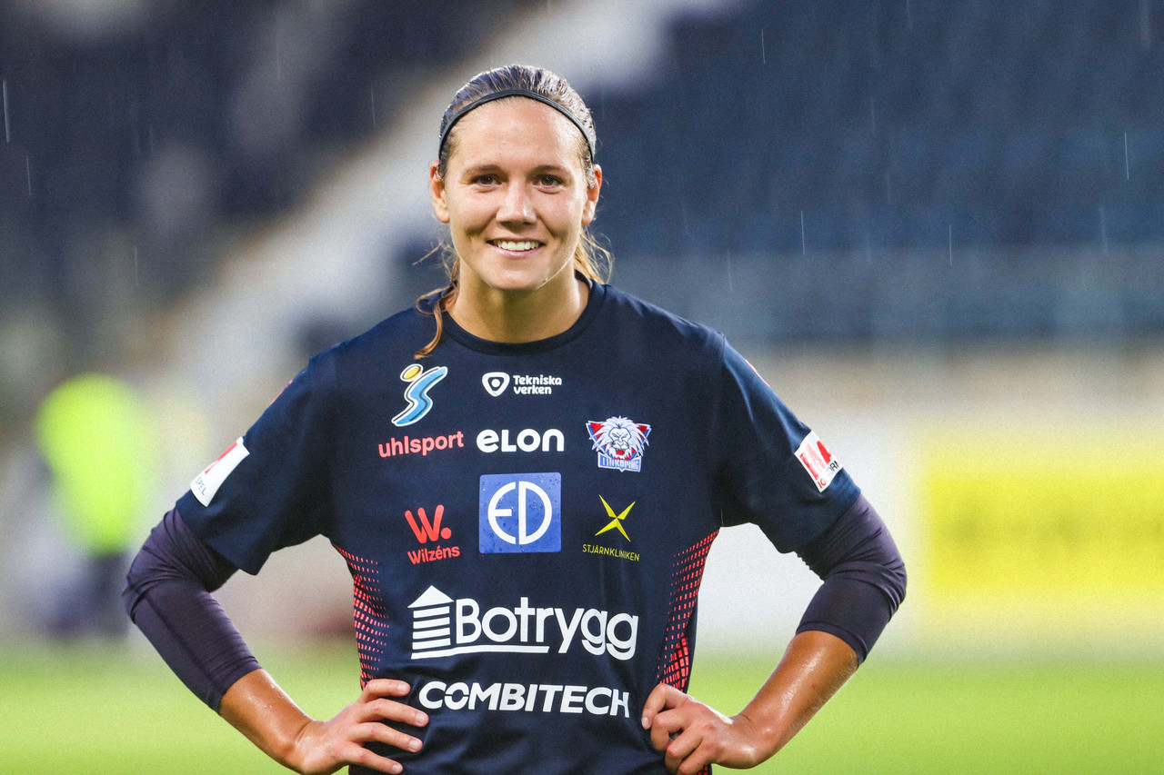 'I want to be remembered as the one who never gave up and fought hard all of the time' - Emma Lennartsson talks about her time in Linköpings FC