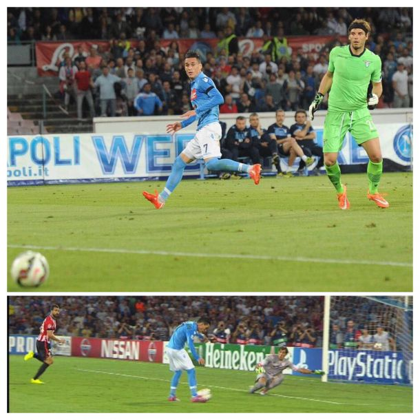Callejon e i suoi gol mancati