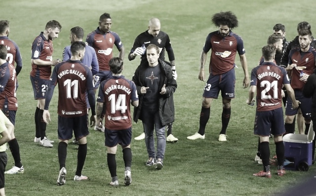 """Jagoba Arrasate: """"El equipo ha sido muy deficiente en la primera mitad"""""""