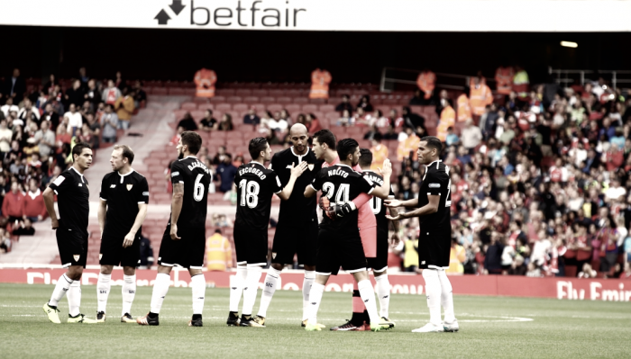 Segunda victoria del Sevilla en Inglaterra