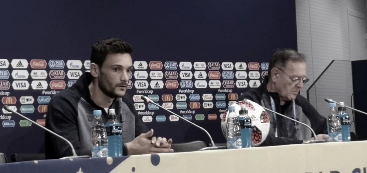 """Pobga y Lloris previo a la final: """"Vivimos felices las horas previas y estamos disfrutando"""""""
