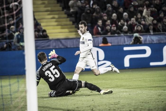 Bernardo Silva marca no fim e Monaco arranca empate do CSKA na Rússia
