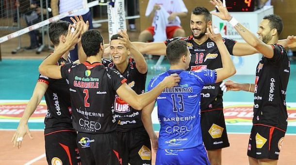 Volley - La Lube comincia con una vittoria la sua Champions League