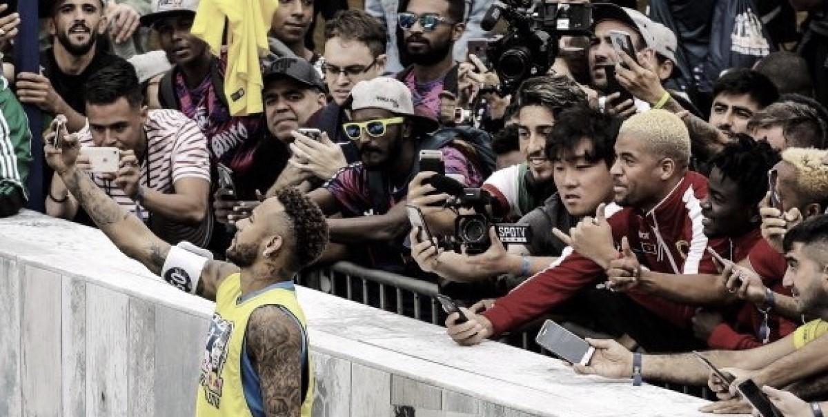 """Neymar: """"Toda la suerte a CR7 y no pediré permiso a los defensas"""""""
