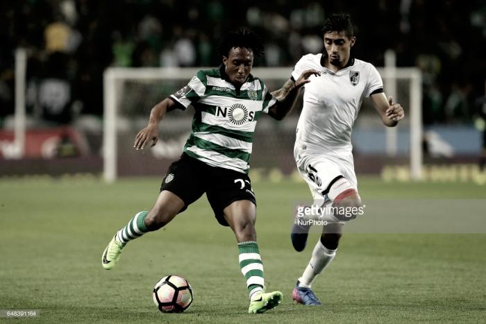 Sporting tropeça frente ao Vitória (1-1)