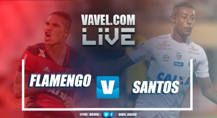 Resultado Santos x Flamengo no Campeonato Brasileiro 2017 (3-2)