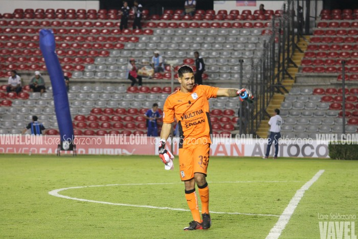 """Gil Alcalá: """"El debutar y que tu portería quede en ceros, es lo que sueña todo portero"""""""