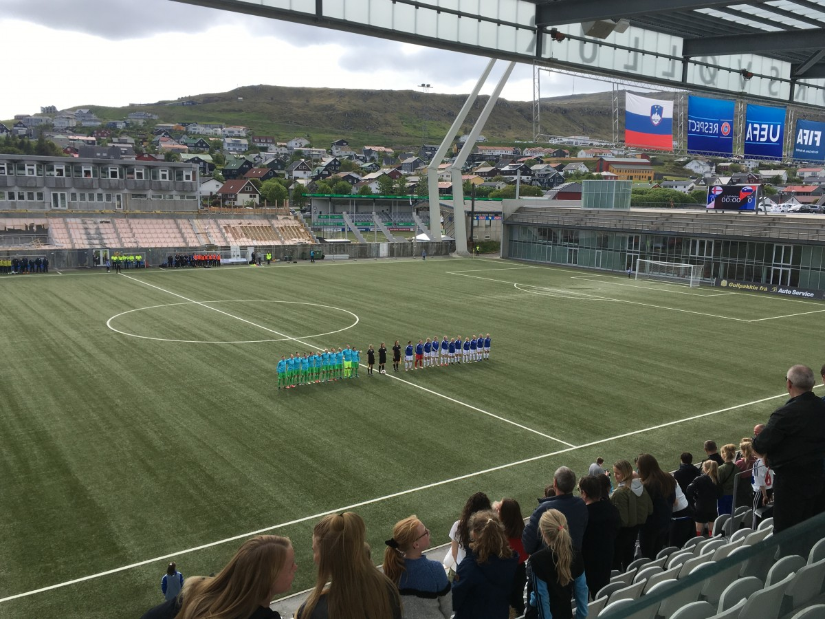 Women's World Cup qualifying: Faroe Islands 0-4 Slovenia