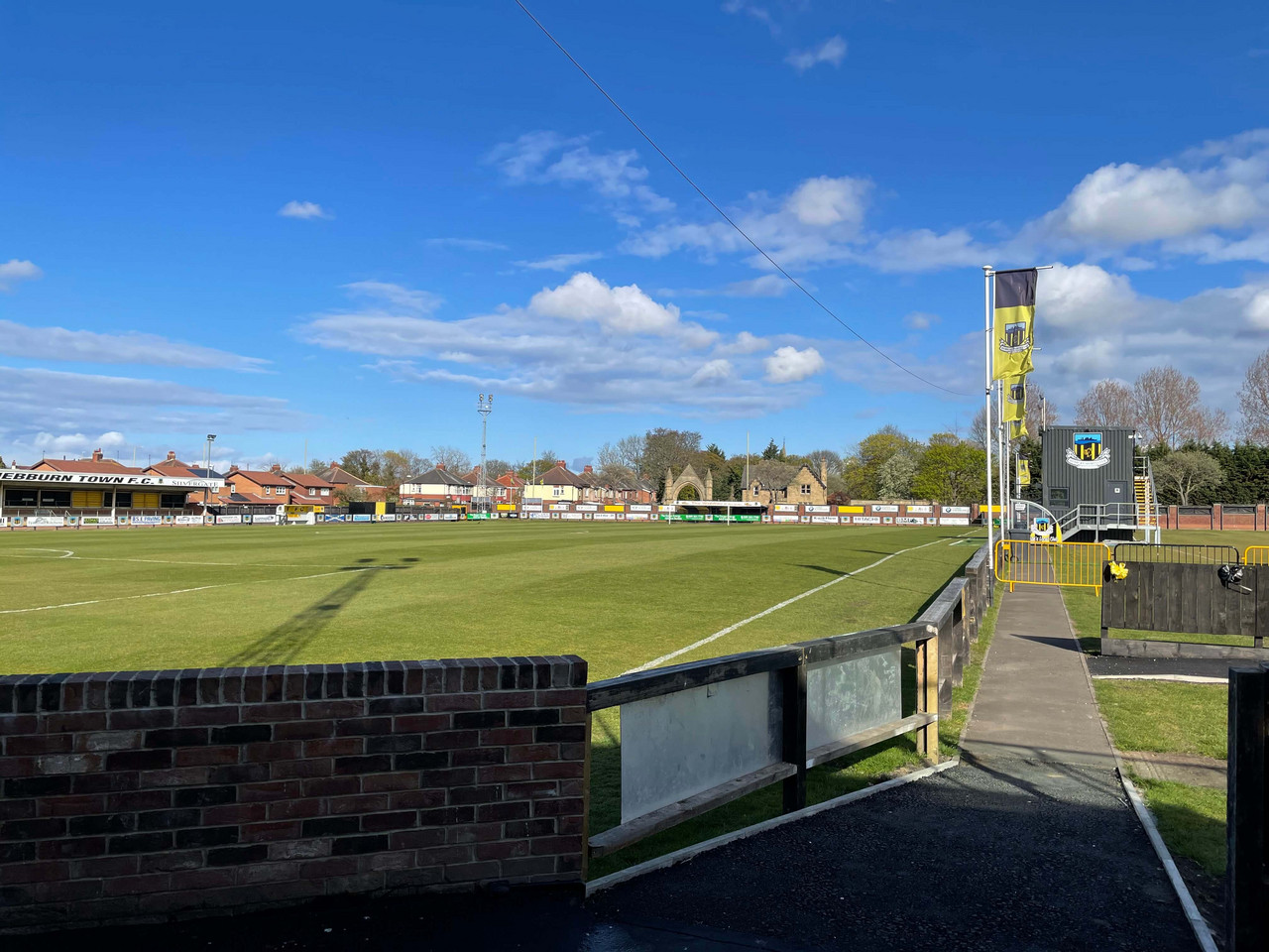 Hebburn Town chief slams the FA for abandoning plans to stage FA Vase Final with 10,000 fans – as Hornets prepare to face North East rivals Consett at Wembley Stadium