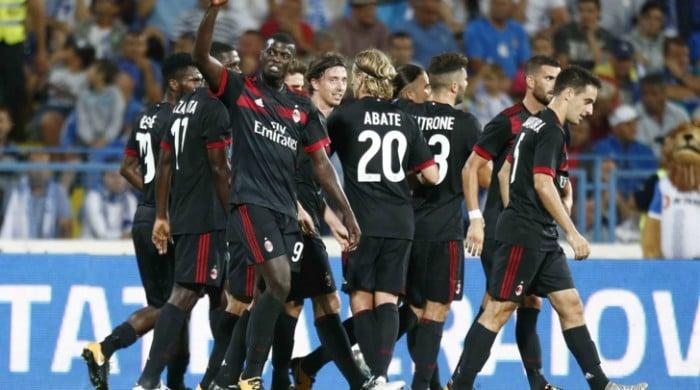 Risultato Milan 2-0 Craiova in Europa League 2017/2018
