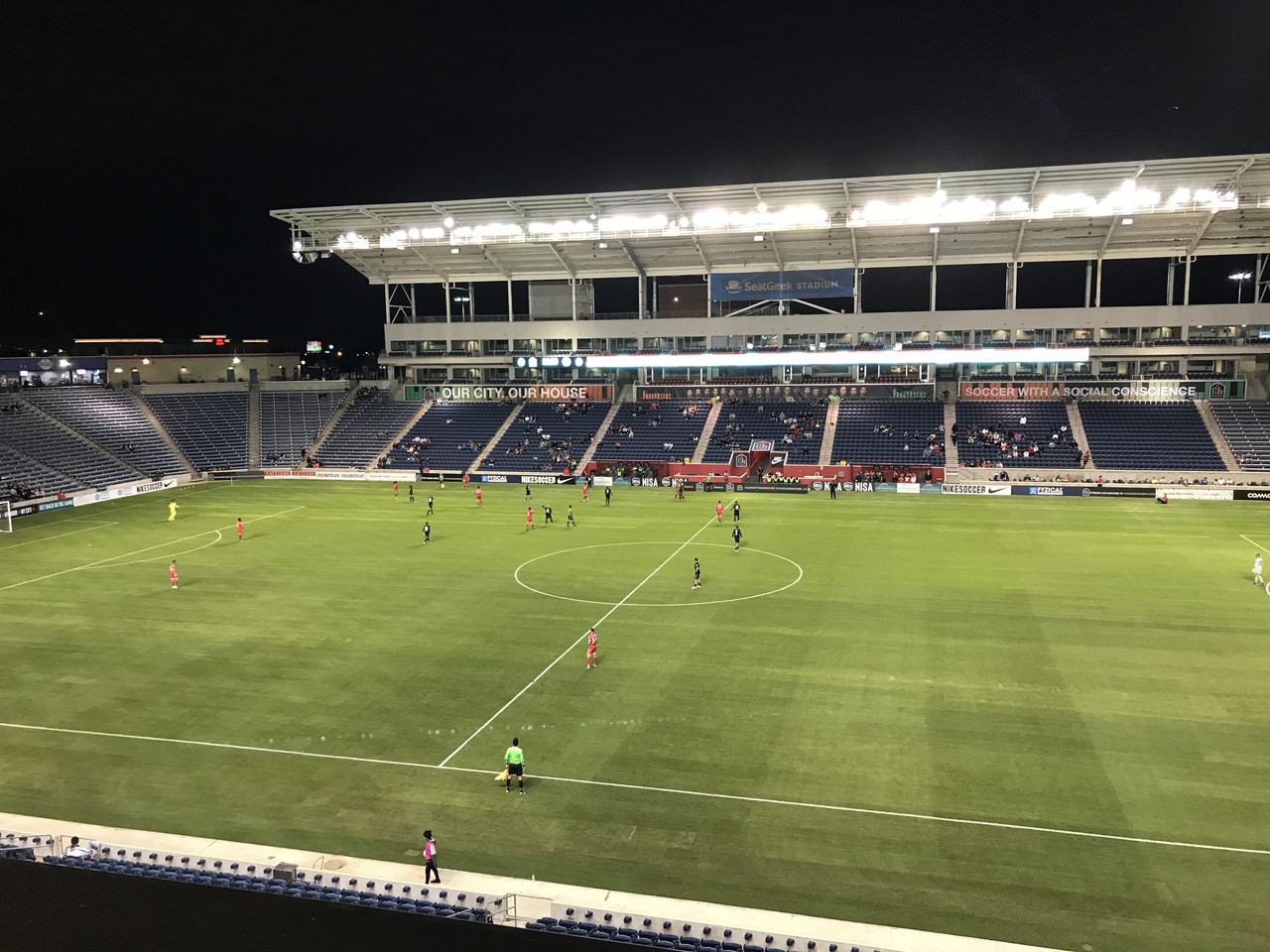 Chicago House AC 1-1 Michigan Stars FC: Honors even at SeatGeek Stadium