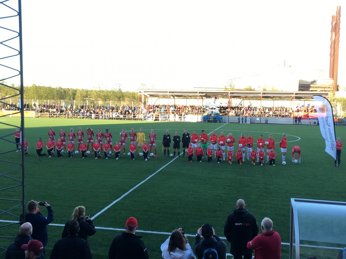 Piteå 0-1 Rosengård: The view from the stands