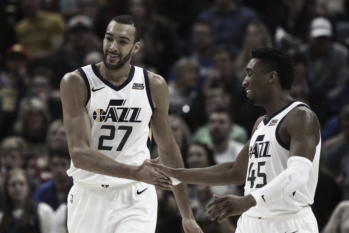 Gobert & Mitchell move on
