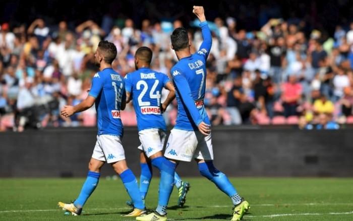 Serie A - Napoli straripante, Benevento travolto al San Paolo