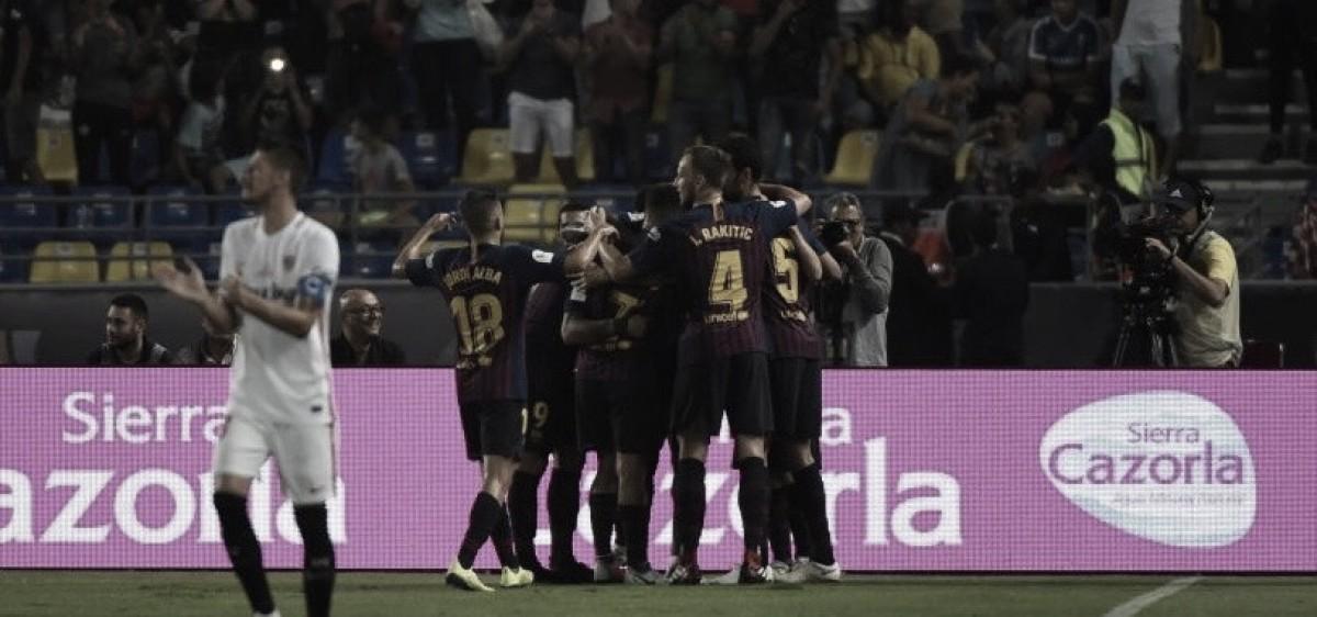 El campeón español no desperdició y alzó una nueva copa