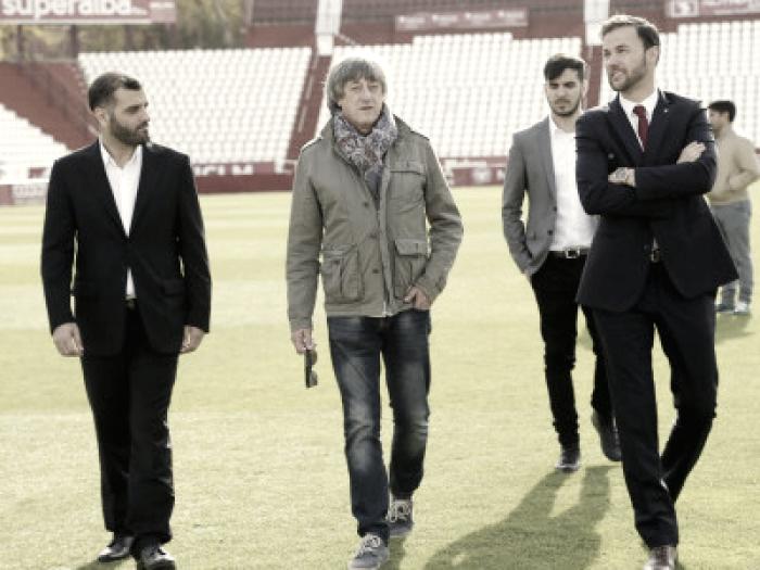 Enrique Martín Monreal, entrenador del Albacete Balompié