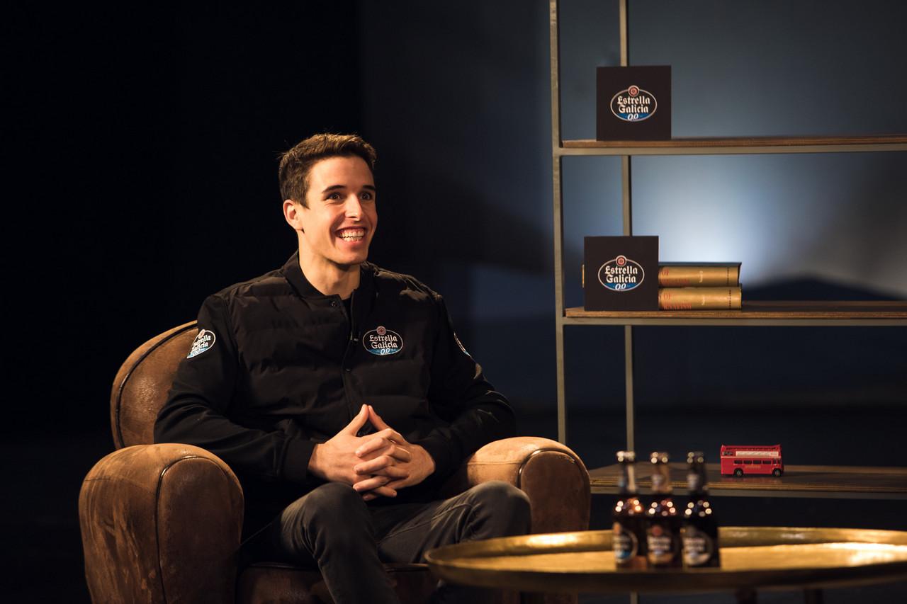Álex Márquez en la entrevista para Estrella Galicia 0,0. | FOTO: estrellagalicia00.es