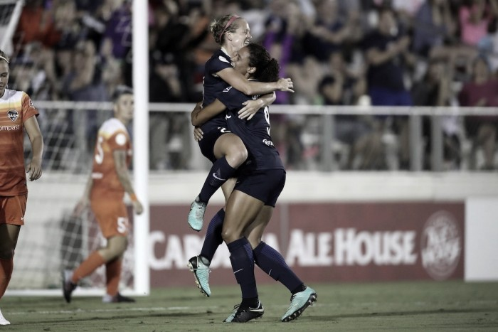 North Carolina Courage ensure home field advantage for the 2017 NWSL playoffs
