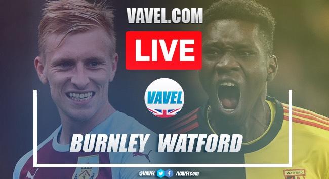 As it happened: Burnley 1-0 Watford