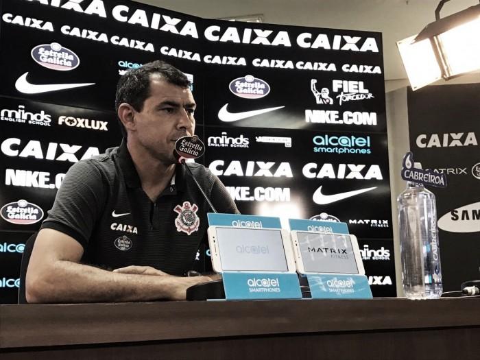 Sem Romero, Carille confirma Corinthians para jogo diante do Flamengo