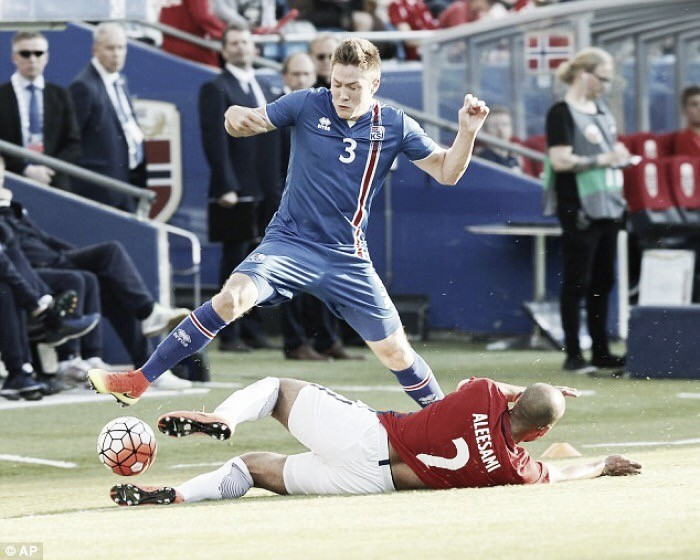 Norway 3-2 Iceland: Visitors see defeat in their penultimate Euro 2016 warm-up game