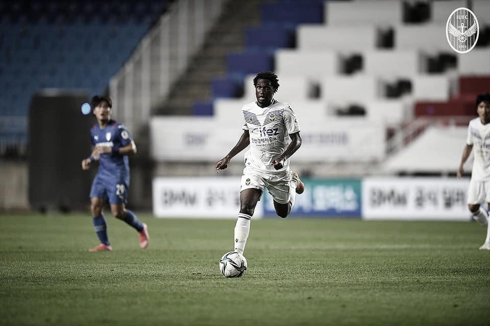 Negueba comenta desempenho no Incheon United e pede evolução na temporada