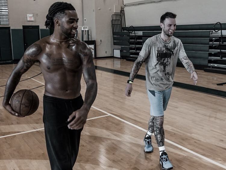 Brickley & Russell Working Out At Florida