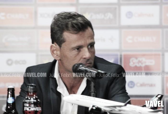 Diego Cocca, tranquilo pese a derrota
