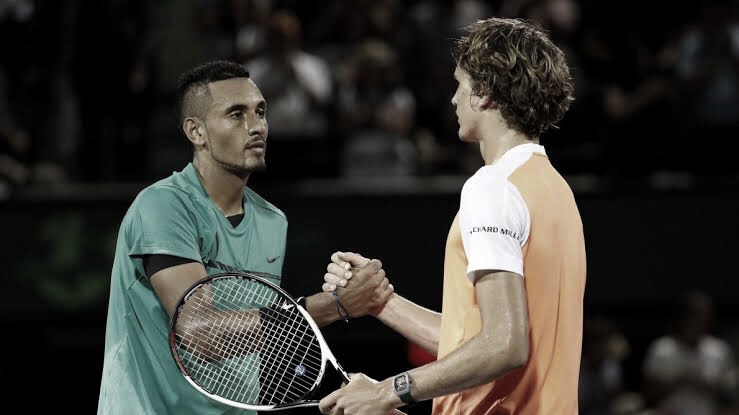 Kyrgios slams Zverev for breaking quarantine rules, partying