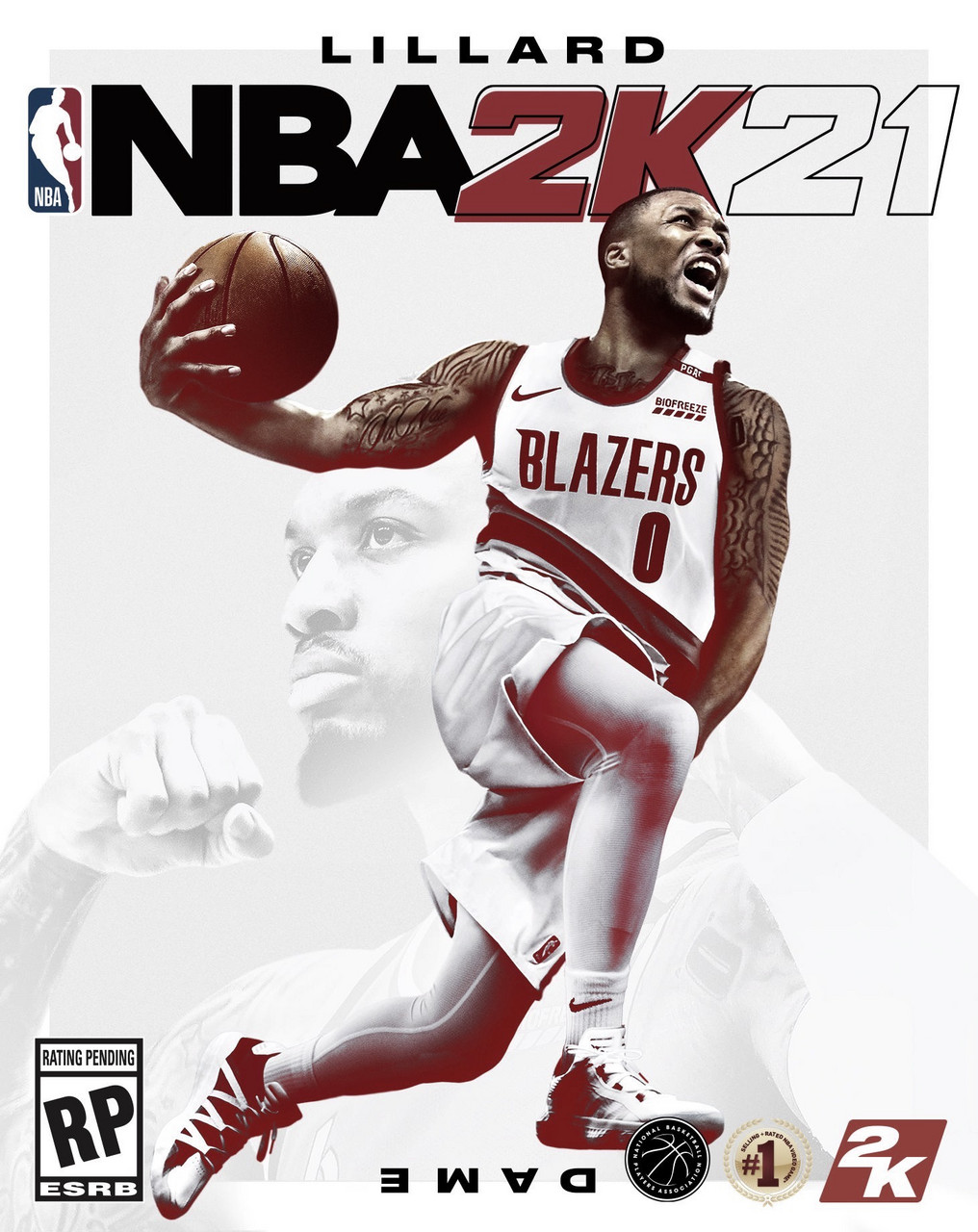 Damian Lillard Will Be on the Cover of 'NBA 2K21' This Fall