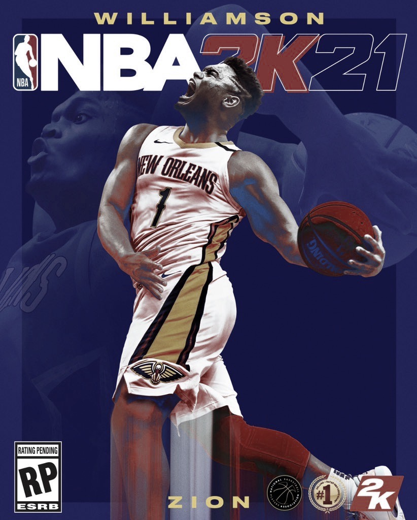 NBA 2K21 Cover: Zion Williamson