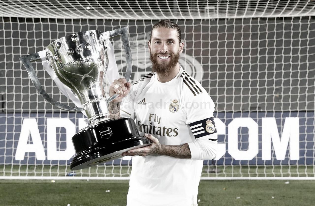 15 años en el Real Madrid, Sergio Ramos hace historia