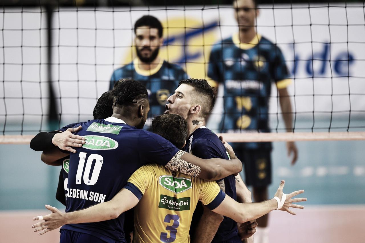 Sada Cruzeiro vence Ribeirão Preto e dispara na liderança da Superliga