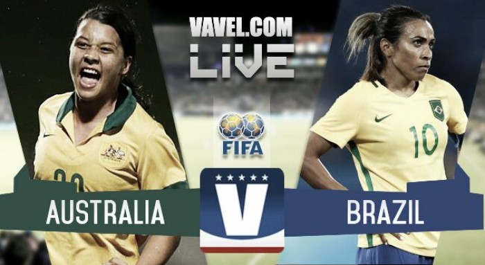 Results and Goals: Australia 6-1 Brazil in Tournament of Nations