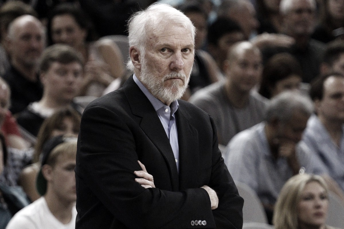 Gregg Popovich Feels Safe At 'The Bubble'
