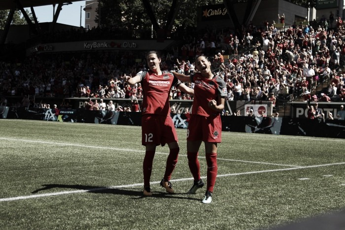 Portland Thorns shutout the Washington Spirit 4-0