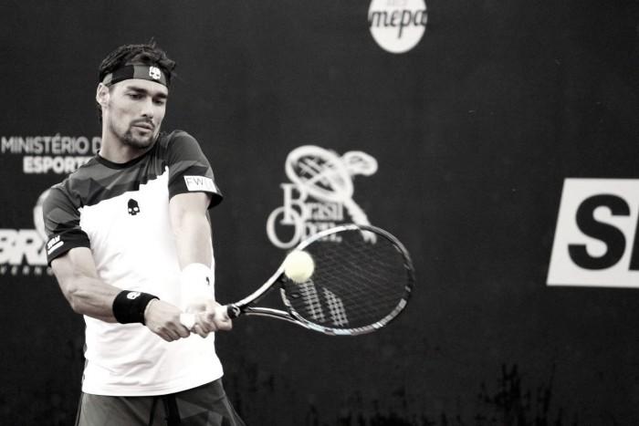 Fognini avançapara as quartas de final do Brasil Open 2017