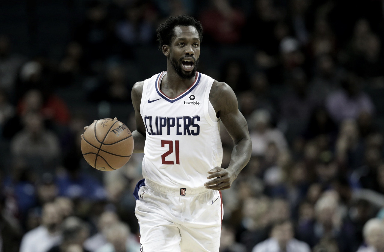 Patrick Beverley Leaves 'The Bubble'