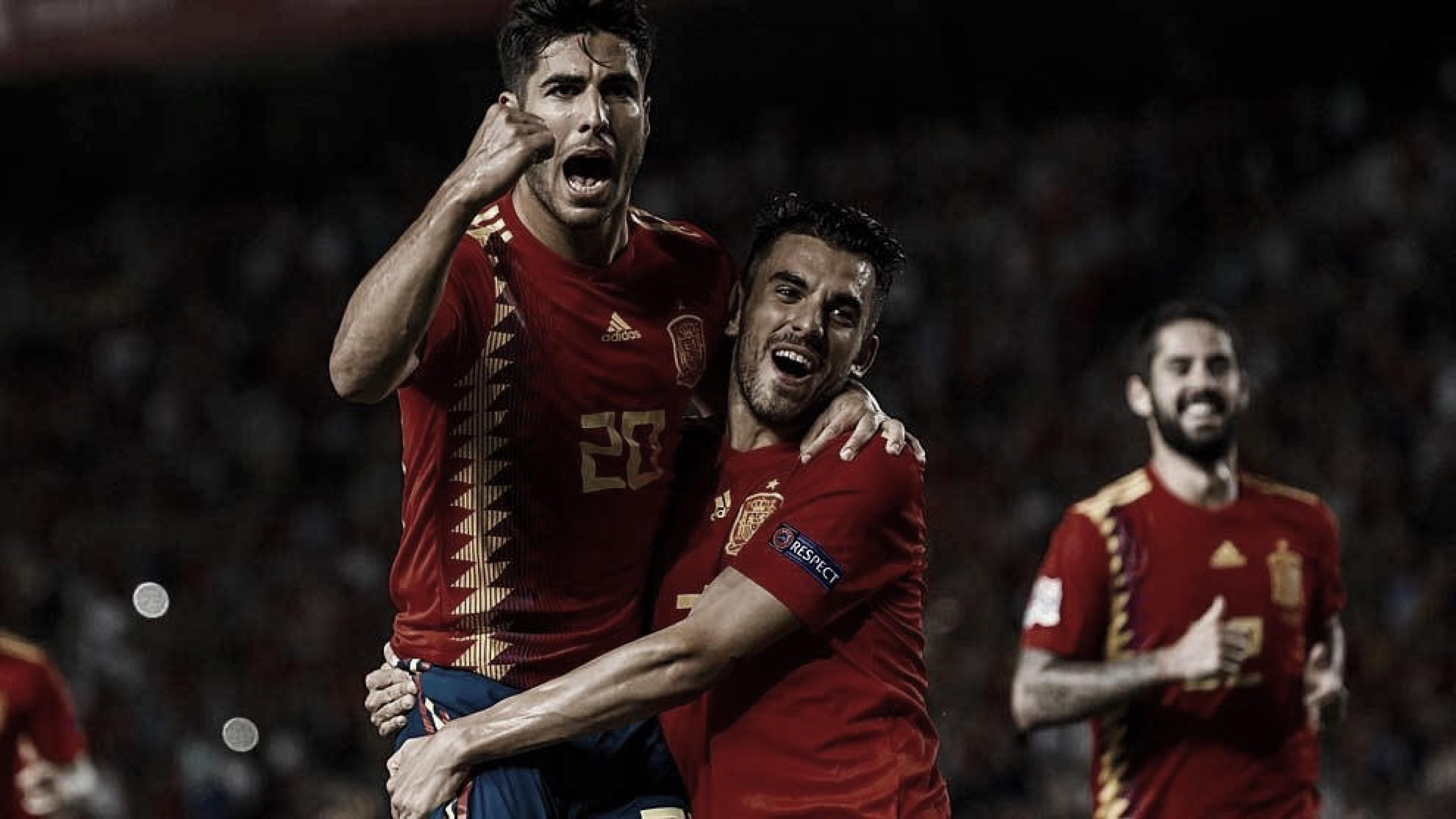 España se llevó el set ante Croacia