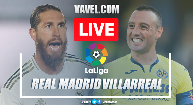 As it happened: Real Madrid crowned champions after victory at home to Villarreal
