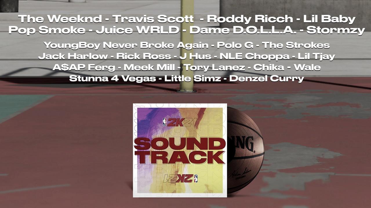 NBA 2K21 Soundtrack Revealed