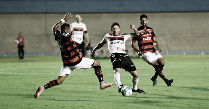 Com menos de 1000 pagantes no Serra Dourada, Atlético-GO vence Brasil de Pelotas