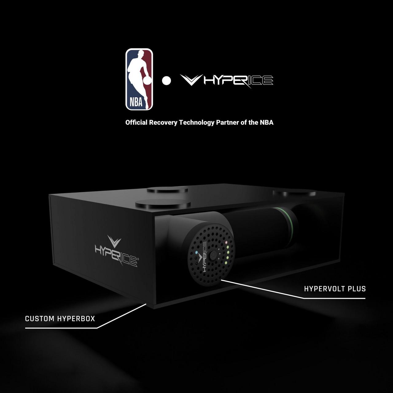 NBA Partners WithHyperice